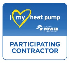 I Love My Heat Pump logo